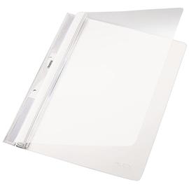 Einhängehefter Universal Lochung im Rückenfalz A4 weiß PVC Leitz 4190-00-01 Produktbild