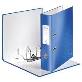 Ordner 180° WOW A4 80mm blau metallic Kunststoff Leitz 1005-00-36 Produktbild