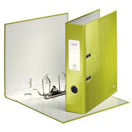 Ordner 180° WOW A4 80mm grün metallic Kunststoff Leitz 1005-00-64 Produktbild