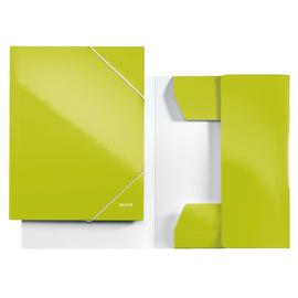 Eckspanner WOW A4 für 250Blatt grün metallic PP-laminierter Karton Leitz 3982-00-64 Produktbild