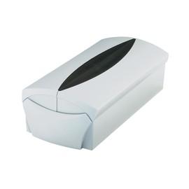Visitenkartenbox Vip-Set 120x245x80mm für 500Karten schwarz/grau HAN 2000-31 Produktbild