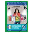 Eckspanner Oxford polyvision für 300Blatt mit 3 Klappen limone PP 100201155 Produktbild