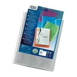 Sichtbuch polyvision mit 20 Hüllen A4 farblos PVC Elba 100206088 Produktbild