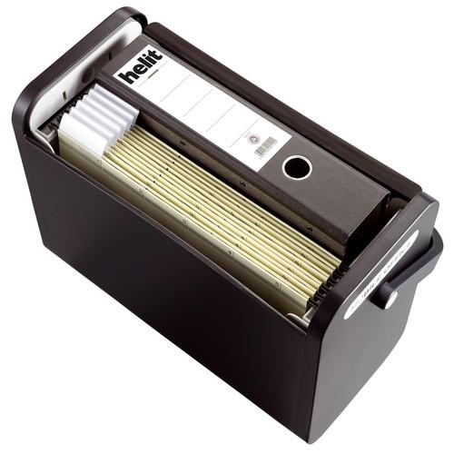 Mobilbox 425x200x375mm schwarz/schwarz Helit H6110195 Produktbild