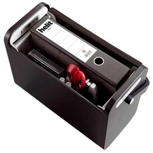 Mobilbox 425x200x375mm schwarz/schwarz Helit H6110195 Produktbild Additional View 2 L