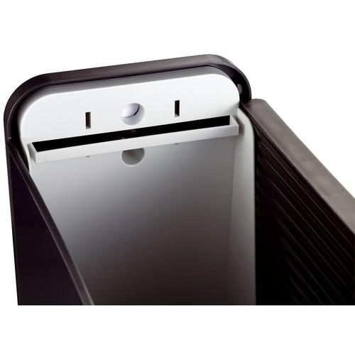 Mobilbox 425x200x375mm schwarz/schwarz Helit H6110195 Produktbild Back View L