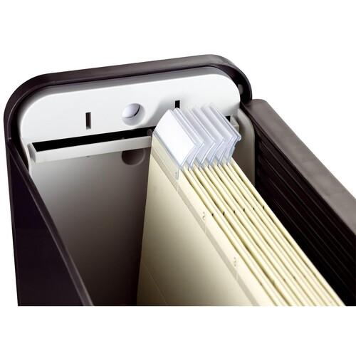 Mobilbox 425x200x375mm schwarz/schwarz Helit H6110195 Produktbild Side View L