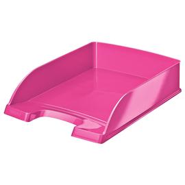 Briefkorb WOW für A4 242x63x340mm pink metallic Kunststoff Leitz 5226-30-23 Produktbild