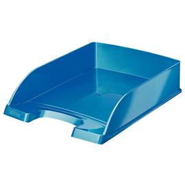 Briefkorb WOW für A4 242x63x340mm blau metallic Kunststoff Leitz 5226-30-36 Produktbild