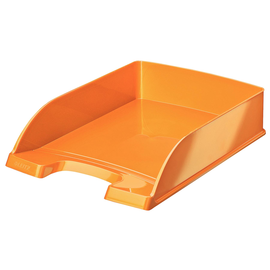 Briefkorb WOW für A4 242x63x340mm orange metallic Kunststoff Leitz 5226-30-44 Produktbild