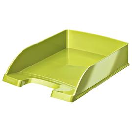 Briefkorb WOW für A4 242x63x340mm grün metallic Kunststoff Leitz 5226-30-64 Produktbild