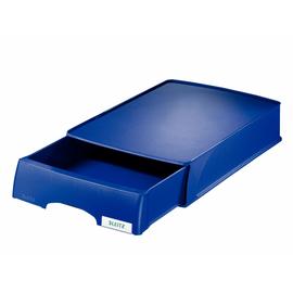 Briefkorb-Schublade Plus für A4 234x53x325mm blau Kunststoff Leitz 5210-00-35 Produktbild
