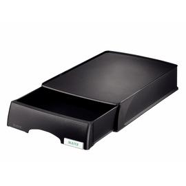 Briefkorb-Schublade Plus für A4 234x53x325mm schwarz kunststoff Leitz 5210-00-95 Produktbild