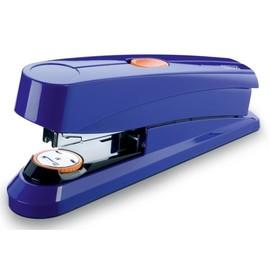 Heftgerät B8FC Power on Demand FlatClinch bis 50Blatt für 24/8+26/8 blau glänzend Novus 020-1676 Produktbild