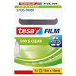 Klebefilm Eco & Clear 15mm x 10m transparent klar Tesa 57035-00000-00 (RLL=10 METER) Produktbild