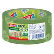 Klebeband Tesapack Eco & Strong 50mm x 66m grün bedruckt recyeltem PP Tesa 58156-00000-00 Produktbild
