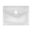 Dokumententasche mit Klettverschluss A7 farblos PP FolderSys 40117-04 (PACK=10 STÜCK) Produktbild