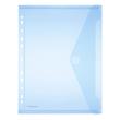 Dokumententasche A4 mit Abheftrand farbig sortiert PP FolderSys 40106-94 (PACK=10 STÜCK) Produktbild Additional View 1 S