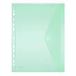 Dokumententasche A4 mit Abheftrand farbig sortiert PP FolderSys 40106-94 (PACK=10 STÜCK) Produktbild Additional View 2 S
