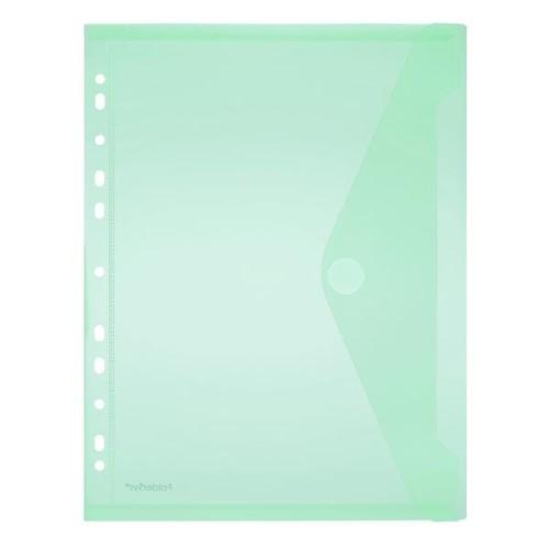 Dokumententasche A4 mit Abheftrand farbig sortiert PP FolderSys 40106-94 (PACK=10 STÜCK) Produktbild Additional View 2 L