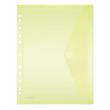Dokumententasche A4 mit Abheftrand farbig sortiert PP FolderSys 40106-94 (PACK=10 STÜCK) Produktbild Additional View 3 S