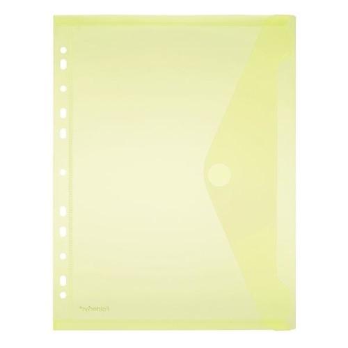 Dokumententasche A4 mit Abheftrand farbig sortiert PP FolderSys 40106-94 (PACK=10 STÜCK) Produktbild Additional View 3 L