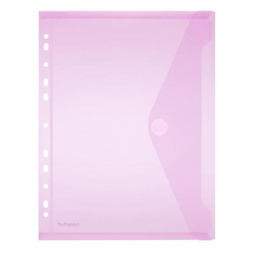 Dokumententasche A4 mit Abheftrand farbig sortiert PP FolderSys 40106-94 (PACK=10 STÜCK) Produktbild Additional View 4 L