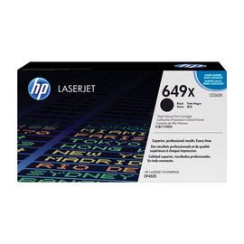 Toner 649X für Color Laserjet CP4525/CM4540 17000Seiten schwarz HP CE260X Produktbild