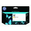 Tintenpatrone 72 für HP DesignJet T1100/T610 130ml yellow HP C9373A Produktbild
