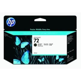 Tintenpatrone 72 für HP DesignJet T1100/T610 130ml schwarz matt HP C9403A Produktbild