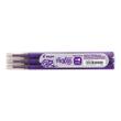 Tintenrollermine Frixion Point BLS-FRP5-V-S3 0,3mm violett Pilot 2265008F (PACK=3 STÜCK) Produktbild