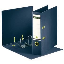 Ordner Recycle A4 80mm dunkelblau Pappe Leitz 1004-00-69 Produktbild