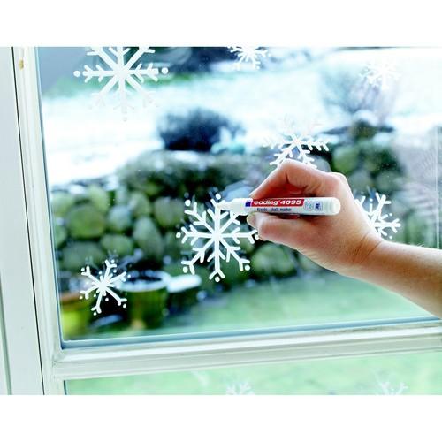 Windowmarker 4095 2-3mm Rundspitze neonorange Edding 4-4095066 Produktbild Additional View 5 L