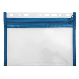 Reißverschlusstasche Velobag XXS zum Abheften 220x160mm blau PP Veloflex 4350050 Produktbild