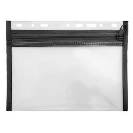 Reißverschlusstasche Velobag XXS zum Abheften 220x160mm schwarz PP Veloflex 4350080 Produktbild