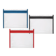 Reißverschlusstasche Velobag XS zum Abheften 305x230mm rot PP Veloflex 4354020 Produktbild Additional View 1 S