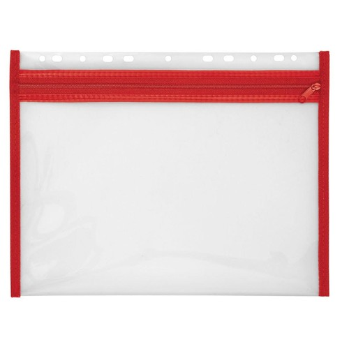 Reißverschlusstasche Velobag XS zum Abheften 305x230mm rot PP Veloflex 4354020 Produktbild