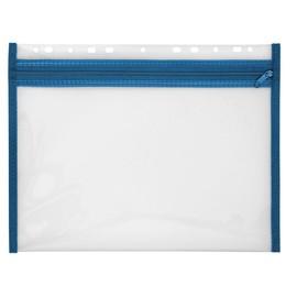 Reißverschlusstasche Velobag XS zum Abheften 305x230mm blau PP Veloflex 4354050 Produktbild