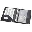 Reißverschlusstasche Velobag XS zum Abheften 305x230mm schwar PP Veloflex 4354080 Produktbild Additional View 2 S