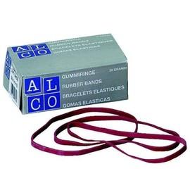 Gummibänder 200x6mm rot ALCO 7521-12 (KTN=50 GRAMM) Produktbild