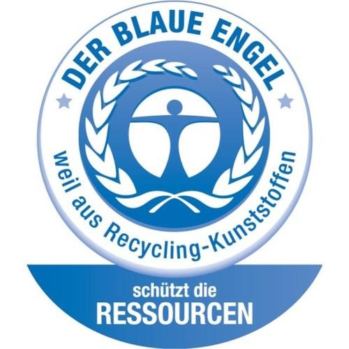 Ablagebox re:cycle für A4 330x254x38mm dunkelblau PP Leitz 4623-00-69 Produktbild Additional View 2 L
