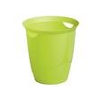 Papierkorb mit Tragegriffen TREND 16l grün Durable 1701710020 Produktbild