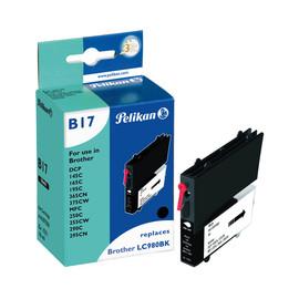 Tintenpatrone Gr. 1521 (LC-980BK) für DCP145C/DCP165C 10ml schwarz Pelikan 4107558 Produktbild
