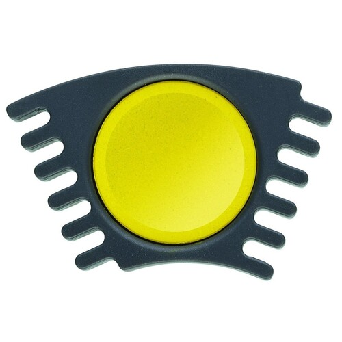 Malkasten-Ersatzfarbe Connector  gelb Faber Castell 125005 Produktbild Front View L