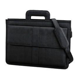 Dokumententasche AVERSA schwarz Lederimitat Alassio 41024 Produktbild