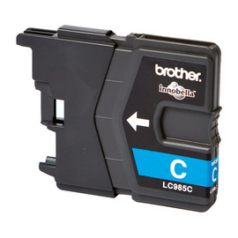 Tintenpatrone für DCP-J125/MFC-J220 7ml cyan Brother LC-985C Produktbild