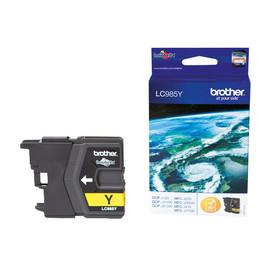 Tintenpatrone für DCP-J125/MFC-J220 7ml yellow Brother LC-985Y Produktbild