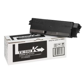 Toner TK-590K für FS-C2026/2126/2526MFP 7000Seiten schwarz Kyocera 1T02KV0NL0 Produktbild