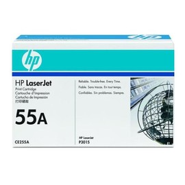 Toner 55A für Laserjet P3010/P3015 6000Seiten schwarz HP CE255A Produktbild