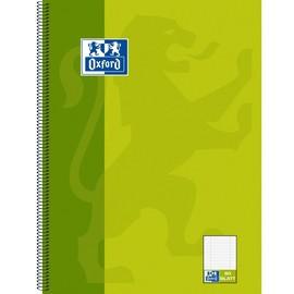 Collegeblock Oxford 4-fach Lochung A4 Lineatur kariert+liniert 80Blatt 90g Optik Paper weiß 100050362 Produktbild